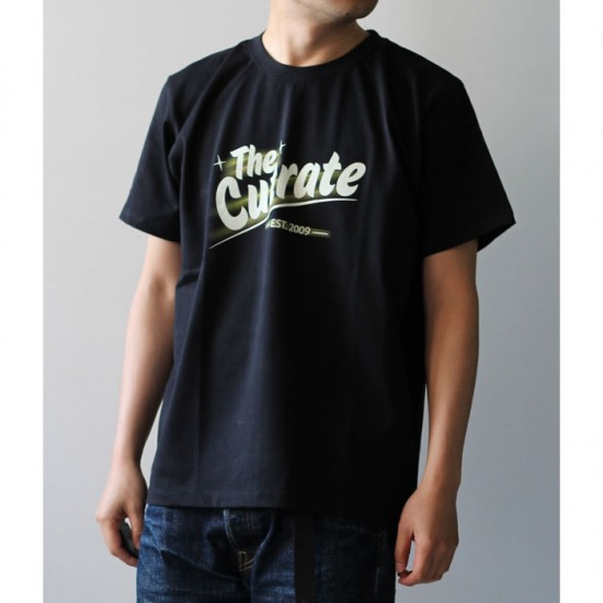 CUTRATE カットレイト ロゴプリント Tシャツ CR-17SS-040 黒