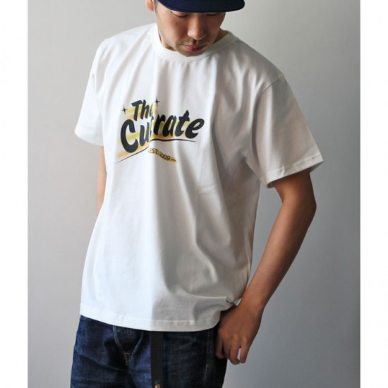 CUTRATE カットレイト ロゴプリント Tシャツ CR-17SS-040 白
